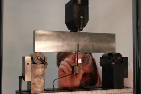 Extensómetro mecánica fractura