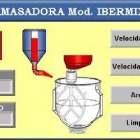 Amasadora automatica cementos IBERMIX - Velocidad Lenta_