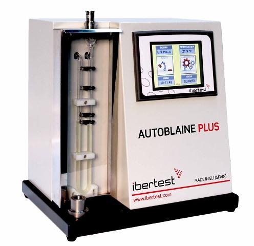 Autoblaine-Plus Permeabillimetro Blaine Cemento con protección EN 193-6 (4to Sensor)_