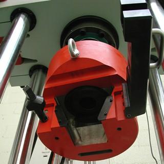 IB186 hydraulic gripping head piston detail