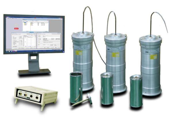 EN-196-9 Computer aided automatic Langavant cement calorimeter IBERTEST