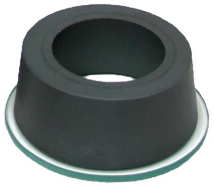 Molde VICAT con placa de vidrio circular ajustable a la cazoleta de inmersión