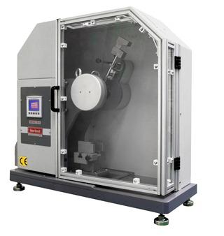 Plastic composite pendulum ISO testing impact