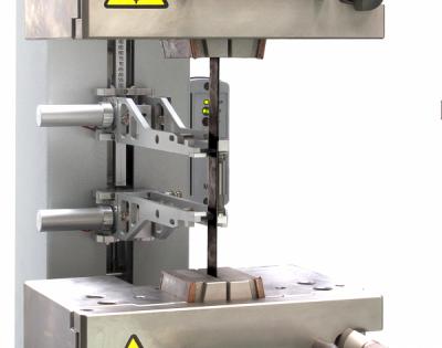 Cabezales de tracción + extensómetro automático fibra de carbono