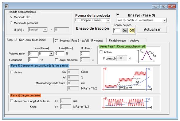 Pantalla fases Software Pre-Craking