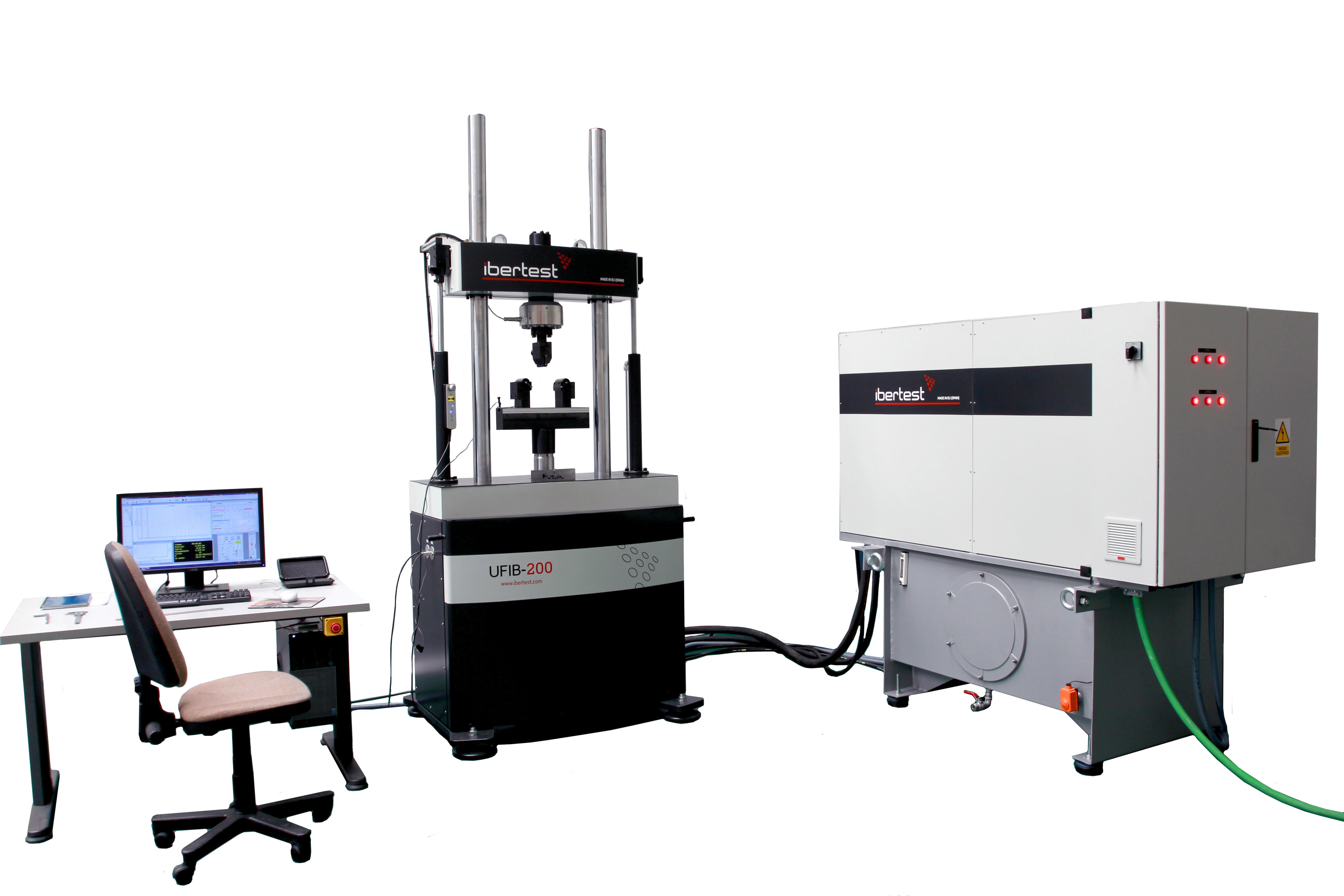 Hydraulic Dynamic Material Testing Machine Ibertest