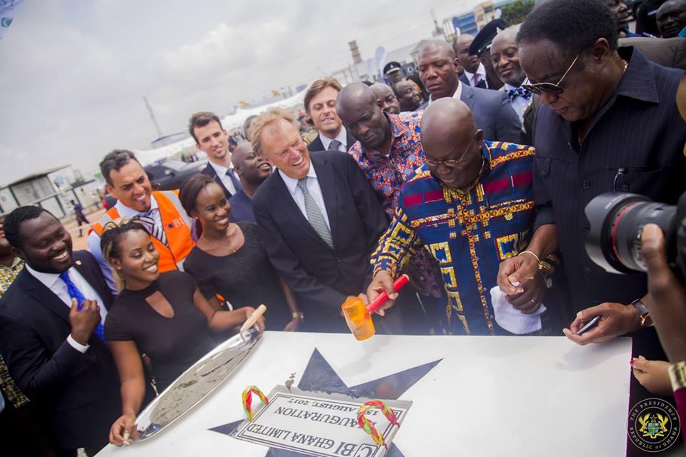 Inauguración CBI Ghana